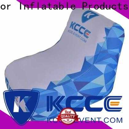 KCCE new inflatable camping chair manufacturer for events