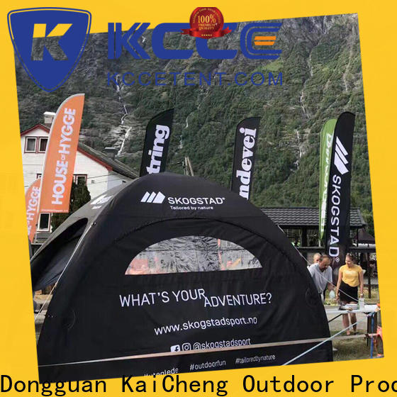 KCCE printed dome camping company for party