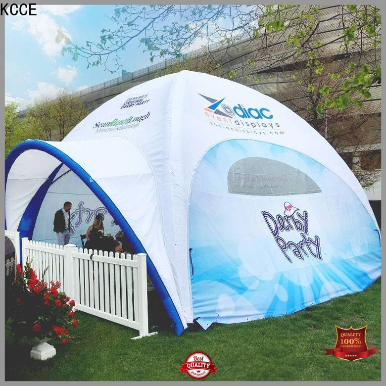 KCCE inflatable tailgate tent with electric pump for advertising