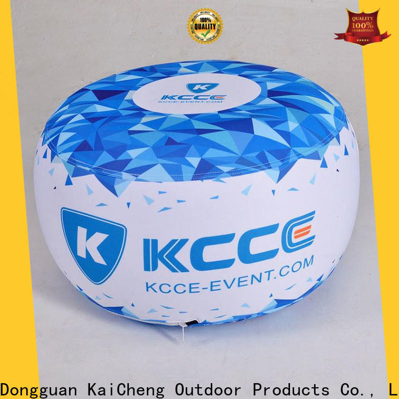 colorful inflatable ottoman footstool manufacturer for outdoor event