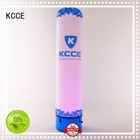 KCCE best inflatable tube with overpressure valves for promotion