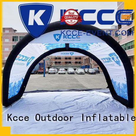 Inflatable U tent