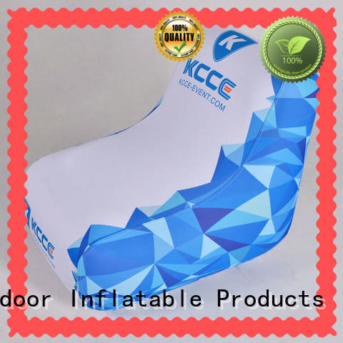 pvc inflatable beach chair manufacturer for promotion