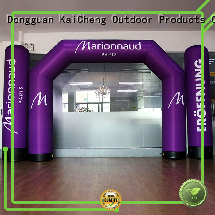 KCCE custom inflatable display factory for marathon