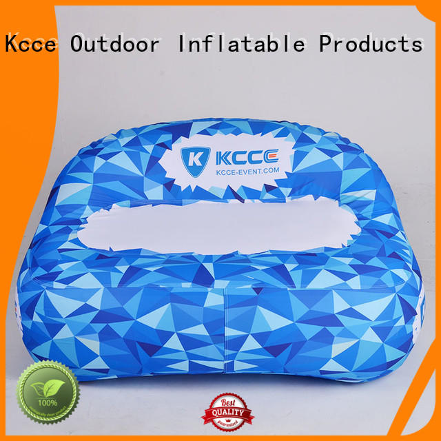 KCCE best inflatable outdoor sofa manufacturer for event
