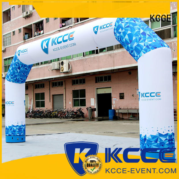 KCCE high quality inflatable start finish line factory for outdoor activities
