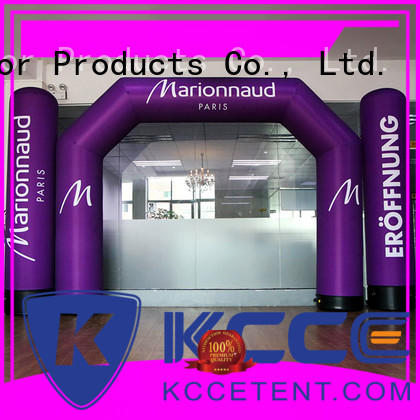 KCCE inflatable arch with four tubes for outdoor activities