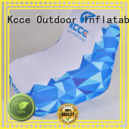 KCCE pvc inflatable outdoor chair manufacturer for meeting