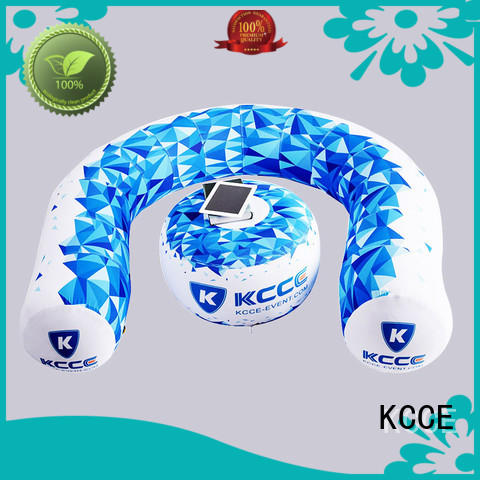 KCCE inflatable camping sofa for busniess for party