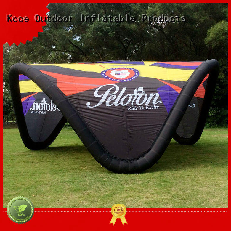 tpu inflatable display tent with extra printed panels for outdoor event