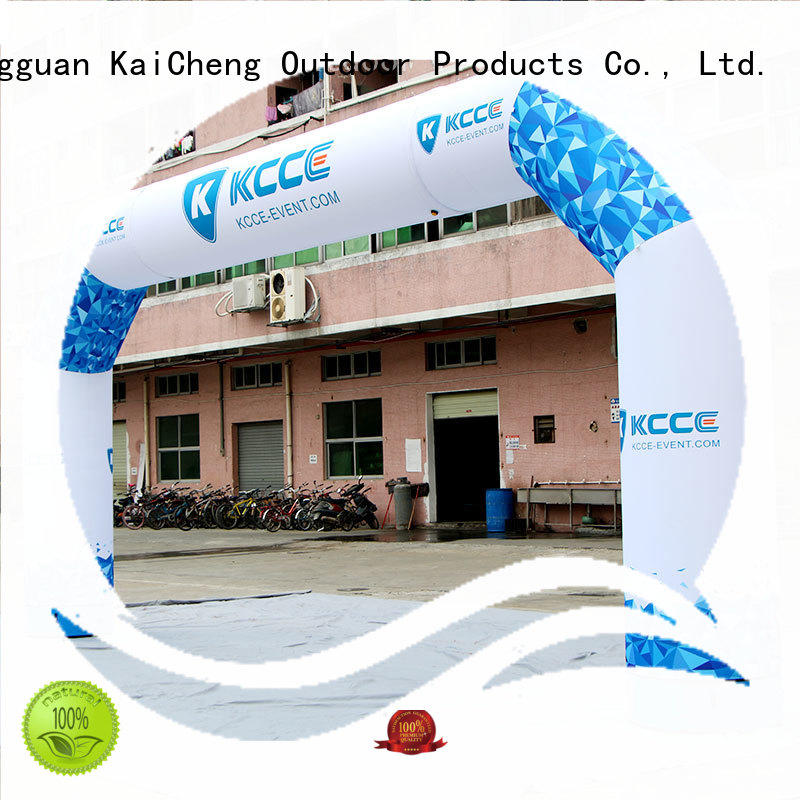 KCCE inflatable arches