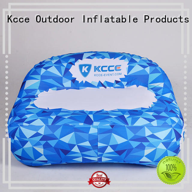 double layer inflatable outdoor sofa supply for trade show