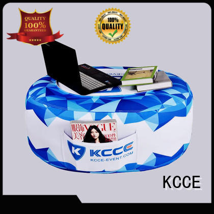 KCCE outdoor blow up chair with tpu bladder for promotion