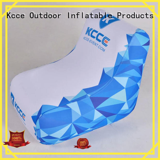 KCCE blow up seat full color pinted for meeting