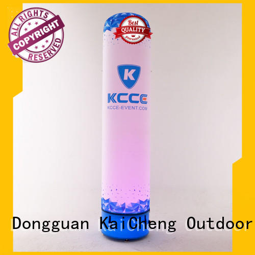 tpu inflatable columns with led light for sale