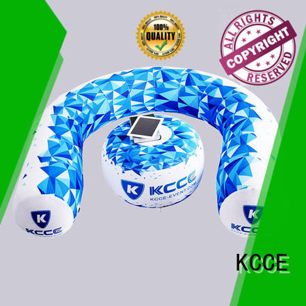 KCCE layer inflatable air sofa light show