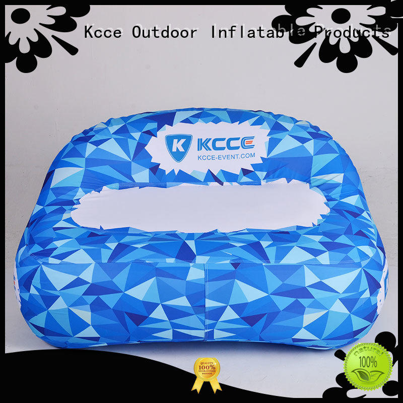 KCCE double layer inflatable doughnut supplier for party