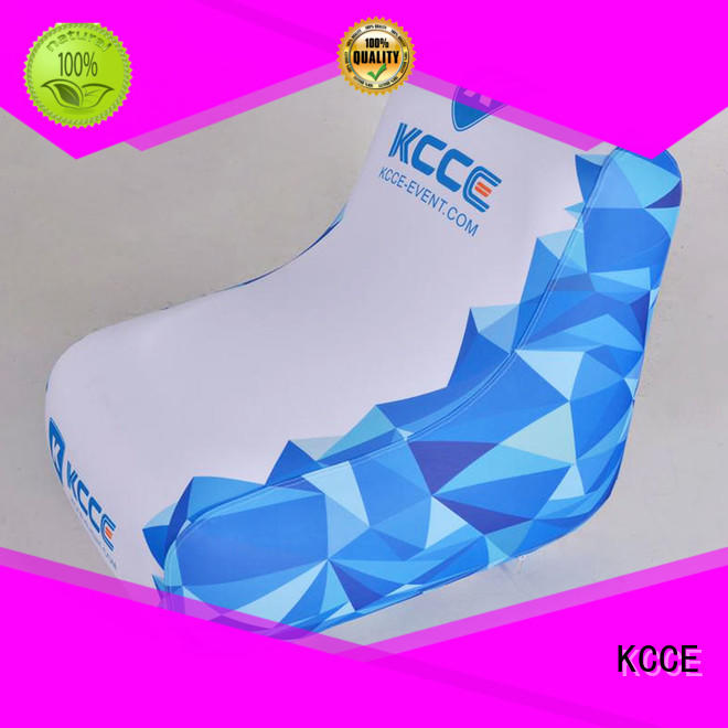 cheap inflatable chairs manufacturer for sport KCCE
