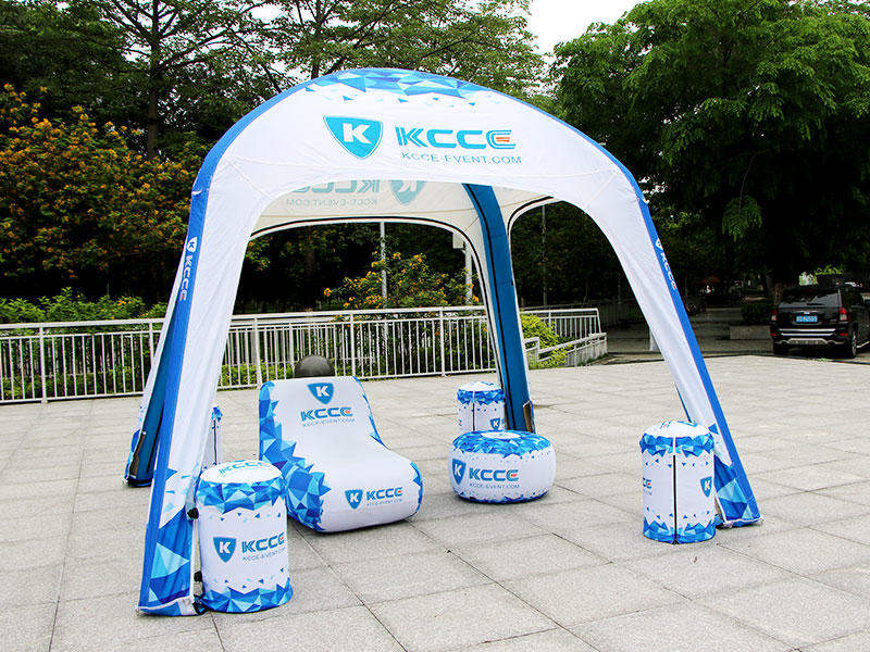 KCCE double layer inflatable event tent for busniess for trade show-1