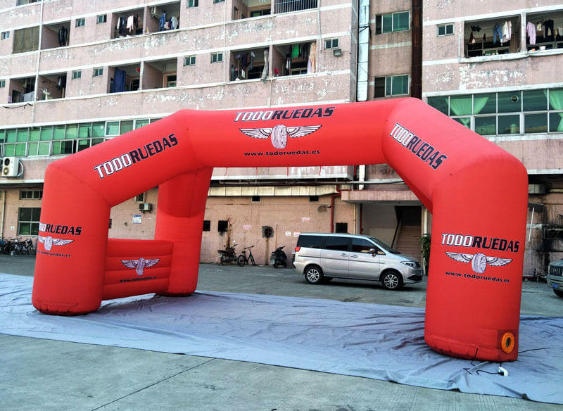 KCCE inflatable start finish line for advertising-2