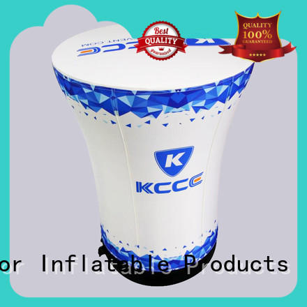 KCCE Inflatable Table with tpu bladder for promotion