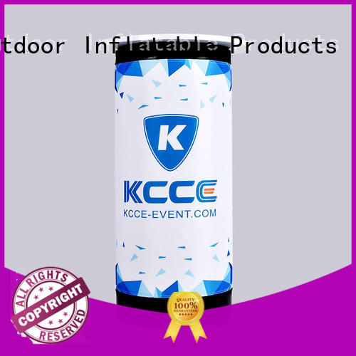 blow up stool for promotion KCCE