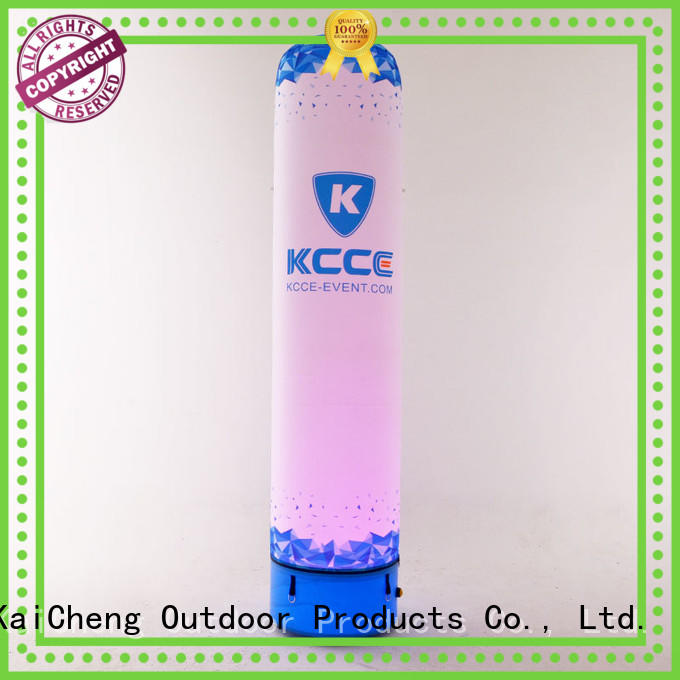 Inflatable tube with LED light