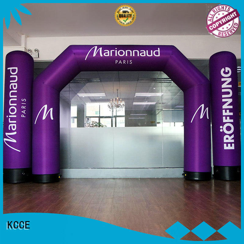KCCE air tight inflate gate with four tubes for advertising