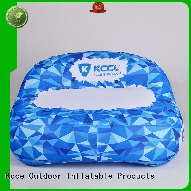KCCE outdoor inflatable sofa supplier for trade show