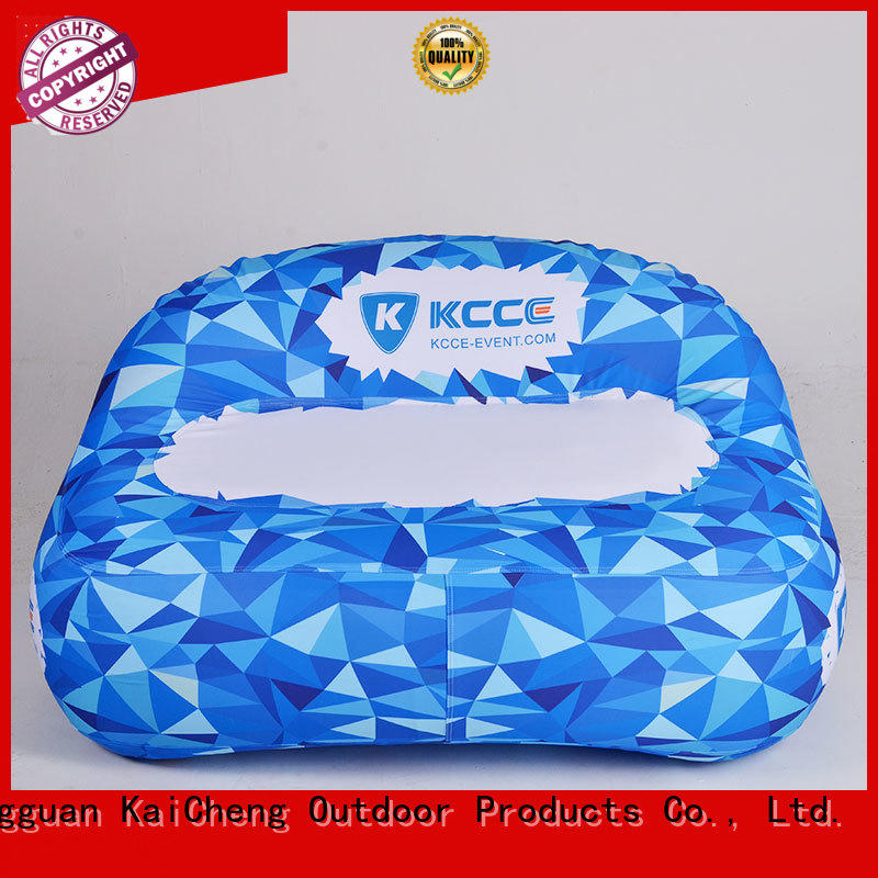 high quality inflatable outdoor air sofa best for trade show KCCE