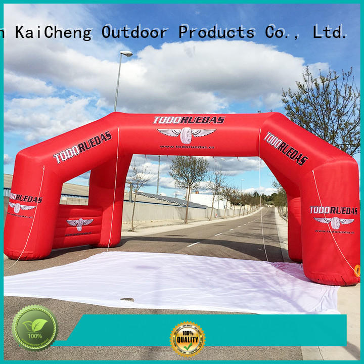 dacron inflatable arches with four tubes for advertising