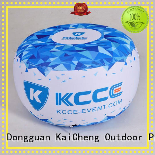 blow up stool for trade show KCCE