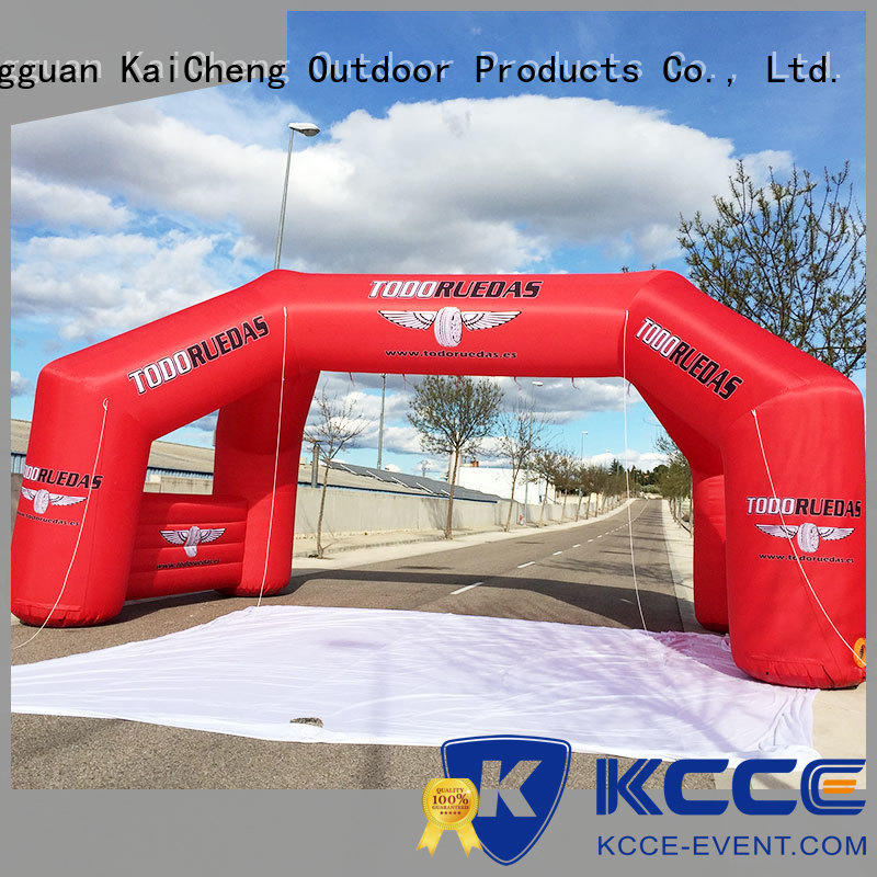 blow up start finish line start finish for outdoor activities KCCE