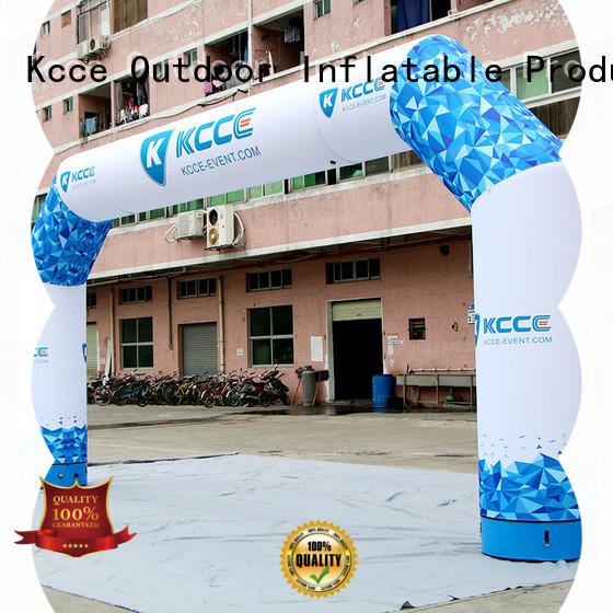 KCCE inflatable arches manufacturer for marathon