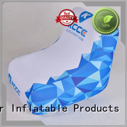 Wholesale advertising inflatable chair KCCE Brand