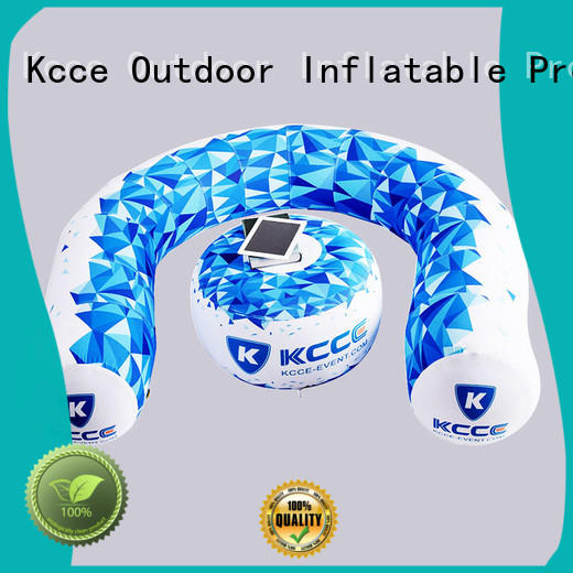 KCCE blow up sofa with couch for event