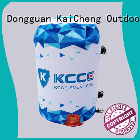 KCCE high quality air barrels with water inside for outdoor