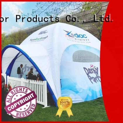 dacron inflatable marquee with extra printed panels