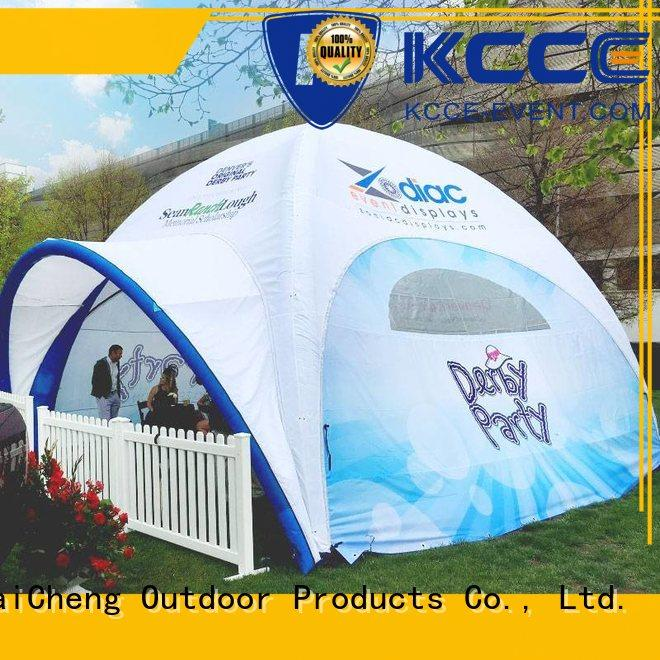 KCCE inflatable tailgate tent supply for advertising