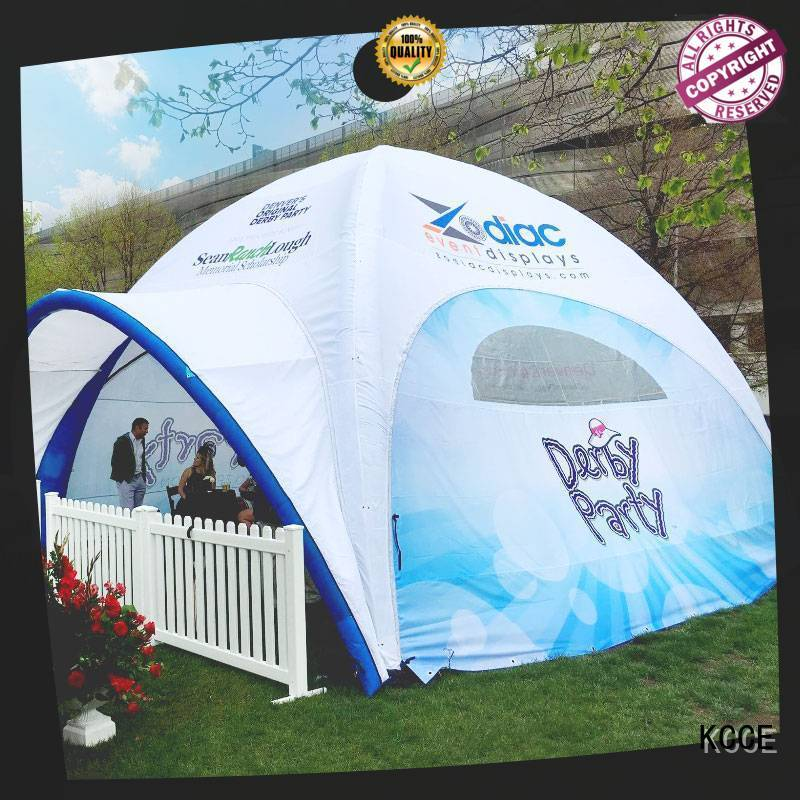 KCCE custom color printed inflatable marquee high quality for promotion
