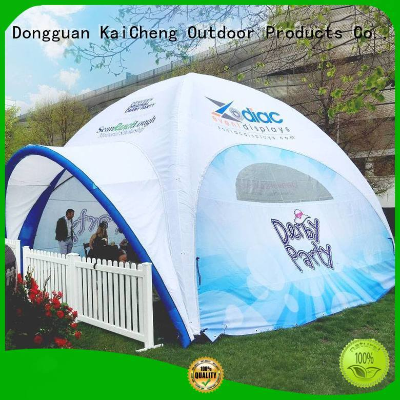 high quality inflatable tents with extra printed panels for outdoor