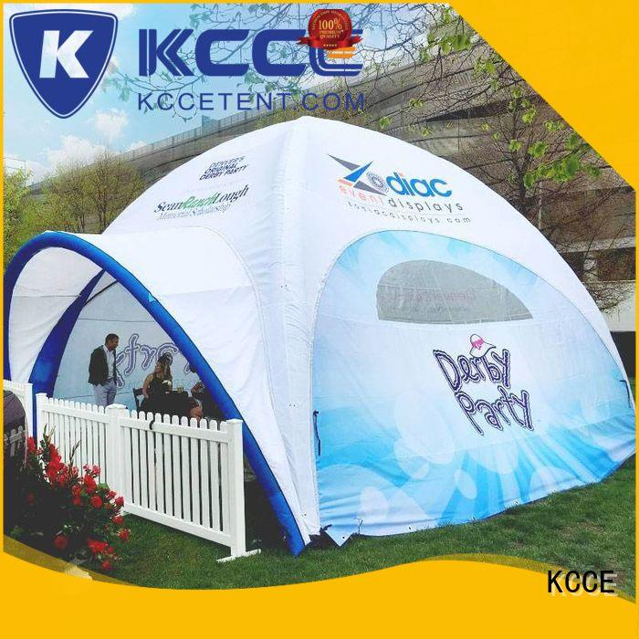 KCCE outdoor inflatable gazebo for sale with extra printed panels